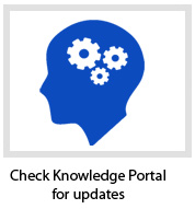 Check Knowledge Portal for Updates